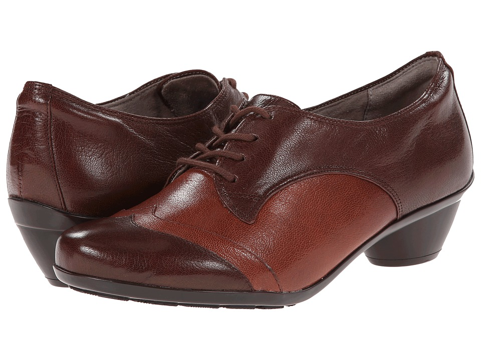 Naturalizer - Hampshire (Bridal Brown/Burnt Siena Leather) Women