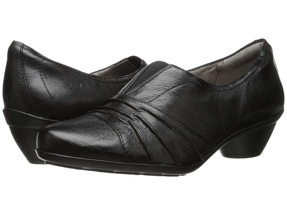 Naturalizer - Hattie (Black Leather) Women's Shoes