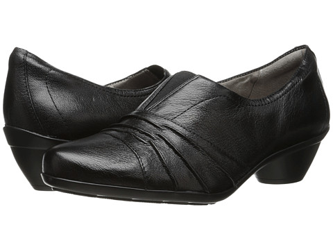 Naturalizer - Hattie (Black Leather) Women's Shoes