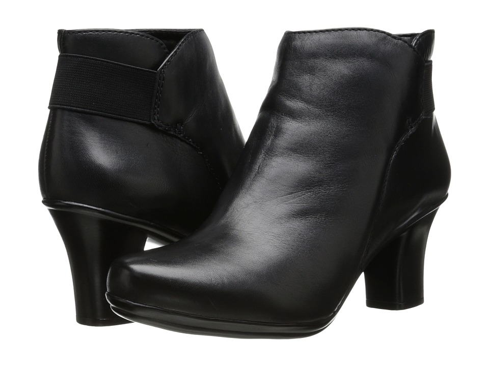 Naturalizer - Later (Black Leather) Women