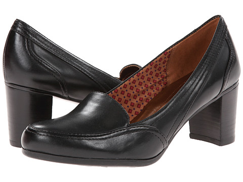 Naturalizer - Mallory (Black Leather/Smooth) Women's Shoes