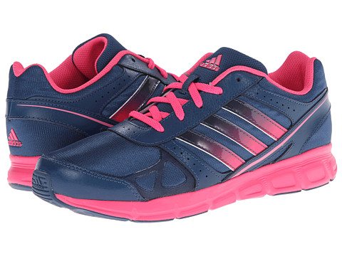 adidas Kids - Hyperfast (Little Kid/Big Kid) (Vista Blue/Solar Pink/Solar Pink) Girls Shoes