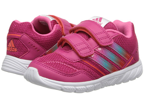 adidas Kids - Adifaito LT EL CF (Toddler) (Bold Pink/Vivid Mint/Core White) Girls Shoes