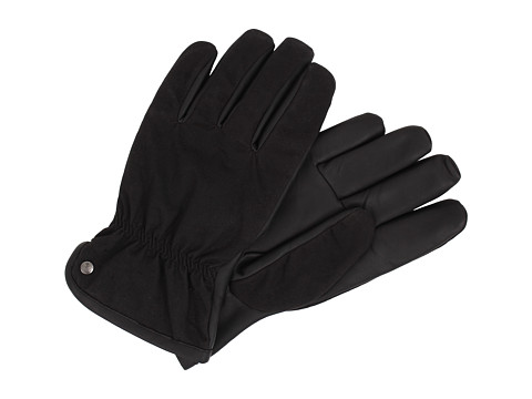 UGG - Ory Canvas Glove (Black) Dress Gloves