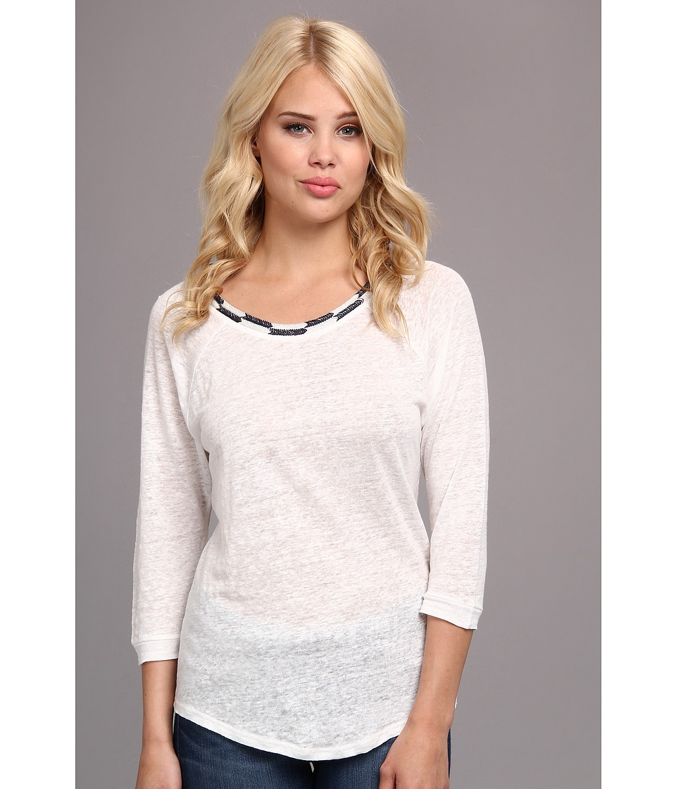 Townsen - Sheen Lights 3/4 Top (White) Women