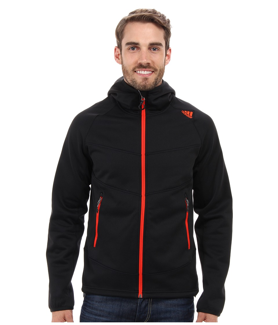 adidas Outdoor - EDO Kapuzenturm 1SD Fleece Hoodie (Black) Men's Sweatshirt