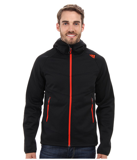 adidas Outdoor - EDO Kapuzenturm 1SD Fleece Hoodie (Black) Men