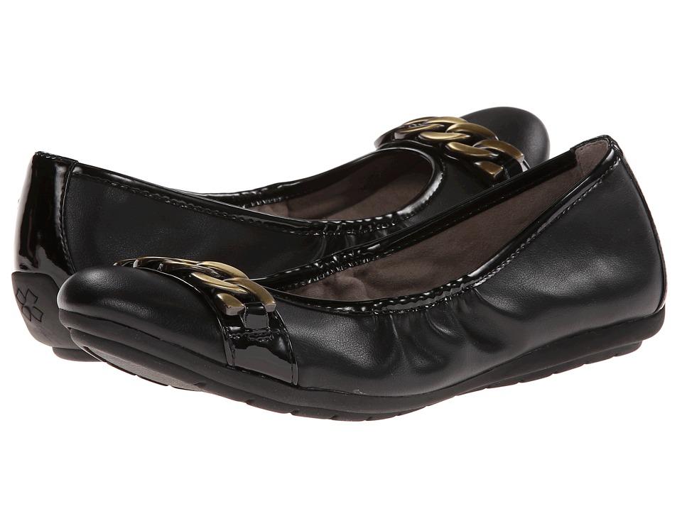 Naturalizer - Uri (Black Smooth/Shiny) Women's Shoes