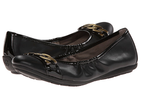 Naturalizer - Uri (Black Smooth/Shiny) Women's Shoes