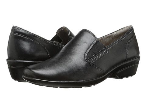 Naturalizer - Winnie (Black Leather) Women's Shoes
