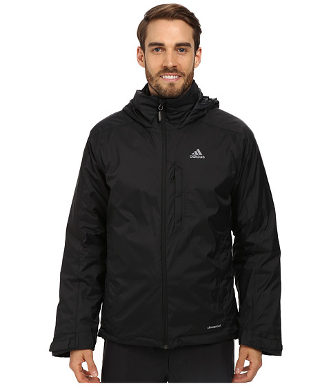 adidas Outdoor - Hiking 3 in 1 CPS Down Wandertag Jacket (Black) Men's Coat