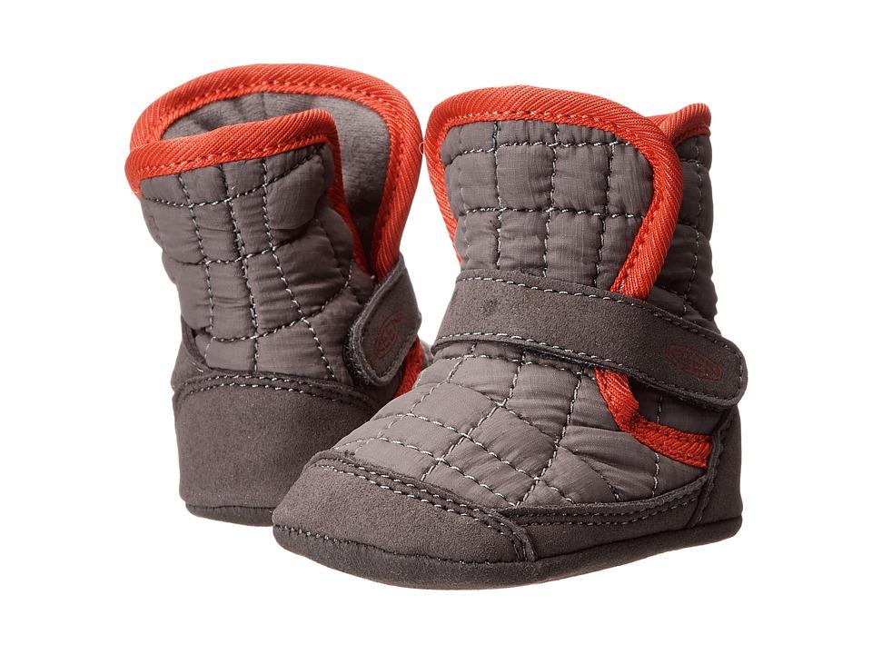 Keen Kids - Rover (Infant) (Gargoyle/True Red) Boys Shoes
