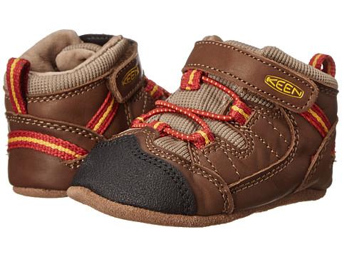 Keen Kids - Targhee (Infant) (Dark Earth/Bossa Nova) Boys Shoes