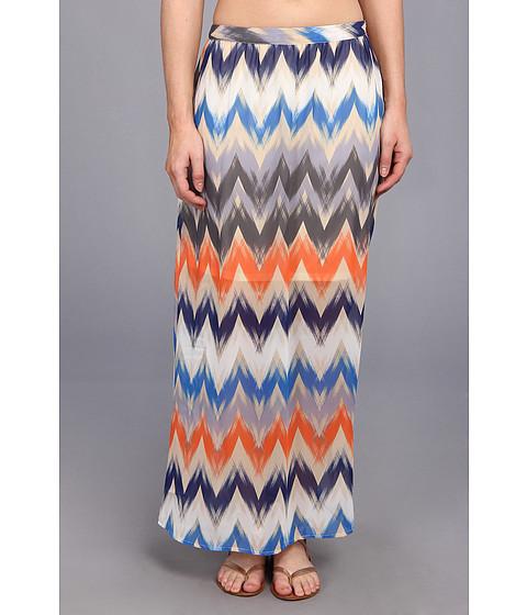 Gabriella Rocha - Mellisa Maxi Skirt (Brushed Chevron) Women's Skirt