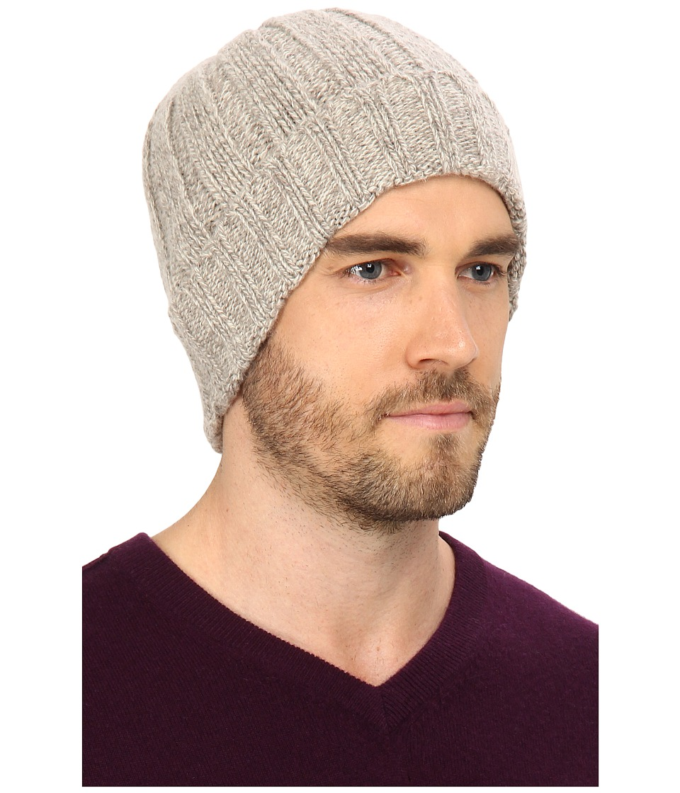 UGG - Calvert Cuff Hat (Oatmeal Heather) Beanies