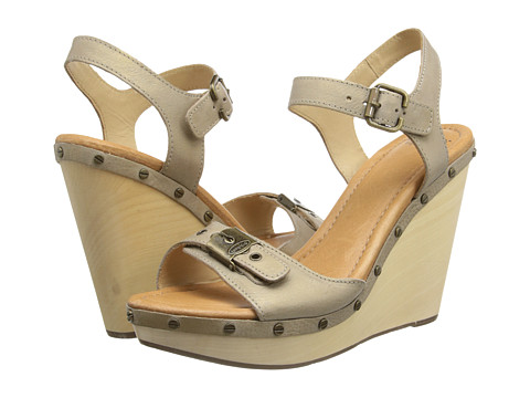 Dr. Scholl's - Lucia - Original Collection (Gold Metallic) Women's Wedge Shoes