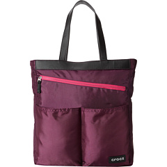 SALE! $24.99 - Save $20 on Crocs Womens Cargo Three Pocket Tote (Plum Purple) Bags and Luggage - 44.47% OFF $45.00