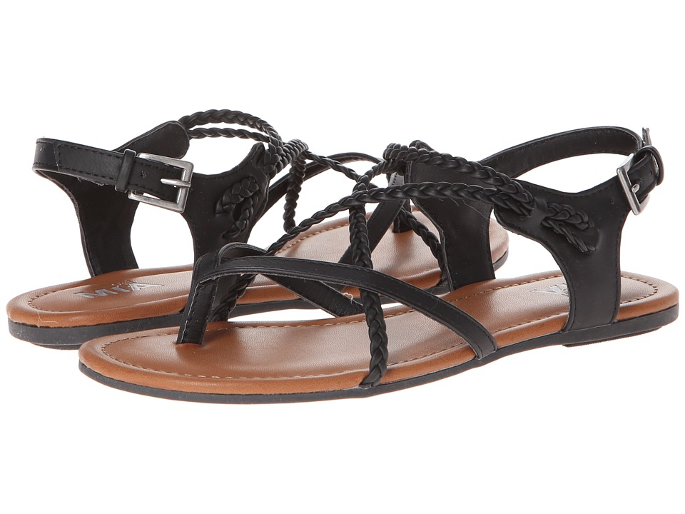 MIA - Adrianna (Black) Women's Sandals