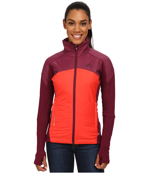 adidas Outdoor - Terrex Skyclimb 2 Jacket (Dark Orange/Dark Orange/Graphite) Women's Jacket