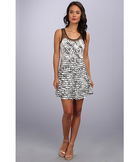 Parker - Jax Dress (Black Splatter) Women's Dress