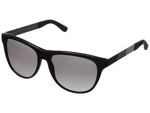 Marc by Marc Jacobs - MMJ 408/S (Black/Grey Gradient) Fashion Sunglasses