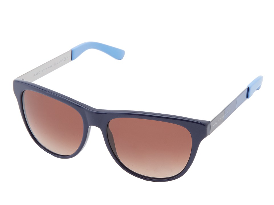 Marc by Marc Jacobs - MMJ 408/S (Blue/Brown Gradient) Fashion Sunglasses