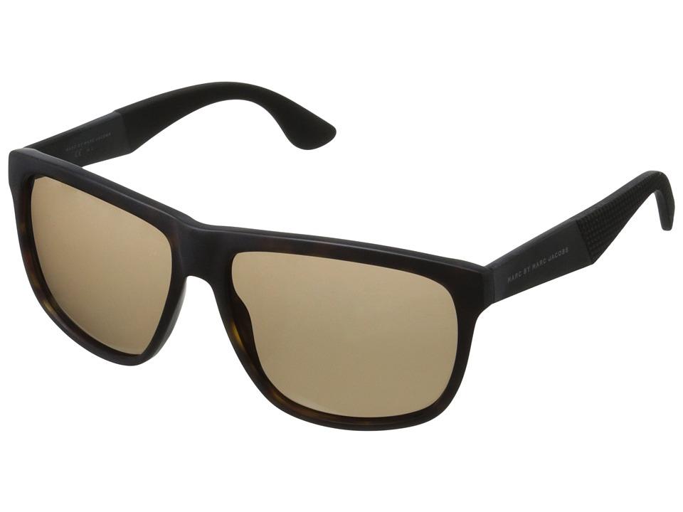 Marc by Marc Jacobs - MMJ 417/S (Dark Havana/Brown) Fashion Sunglasses