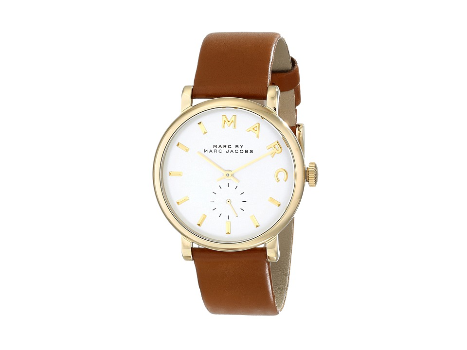 Marc by Marc Jacobs - MBM1316 - Baker 36mm (Tan/Gold) Watches