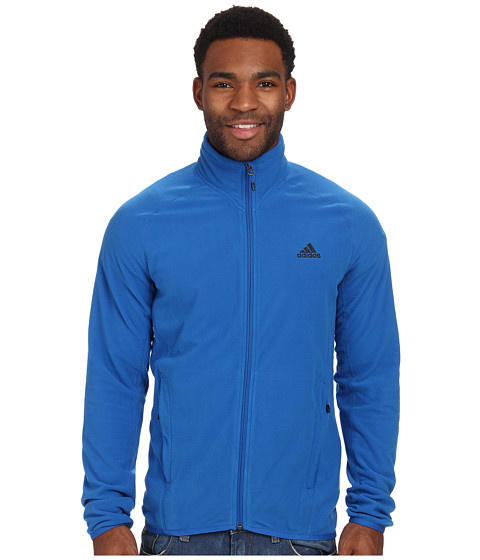 adidas Outdoor - Hiking Fleece Jacket (Blue Beauty) Men's Jacket