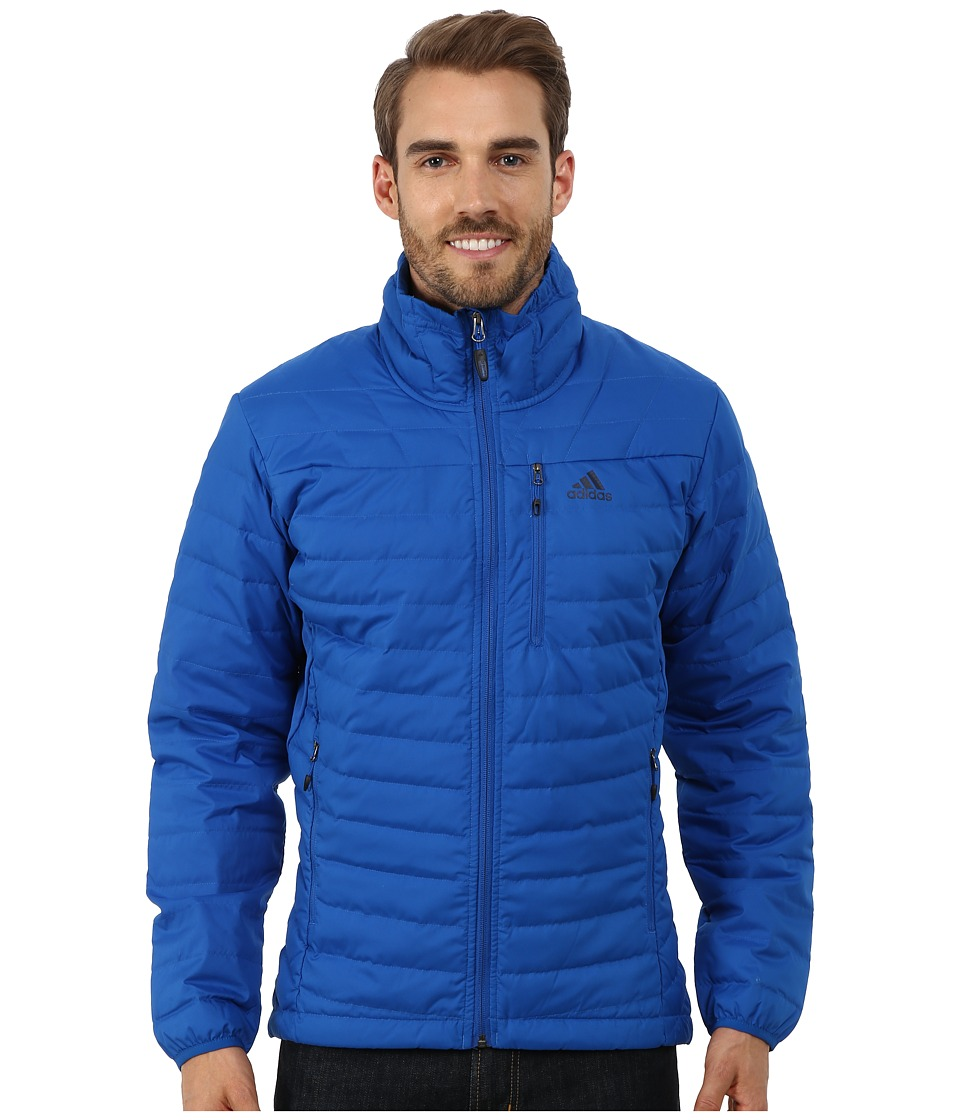 adidas Outdoor - Hiking Hybrid Light Down Jacket (Blue Beauty) Men's Jacket
