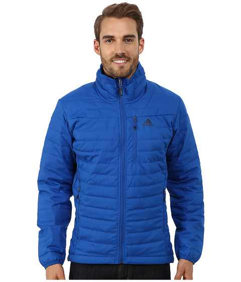 adidas Outdoor - Hiking Hybrid Light Down Jacket (Blue Beauty) Men