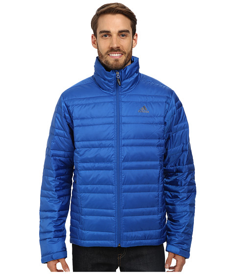 adidas Outdoor - Hiking Light Down Jacket 2 (Blue Beauty) Men's Coat