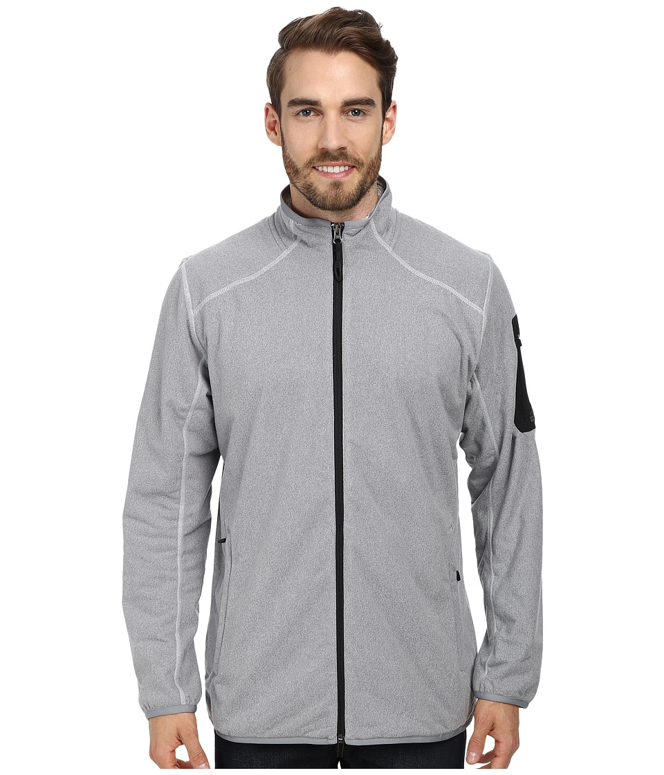 adidas Outdoor - Hiking Melange Fleece Jacket (Tech Grey) Men's Coat