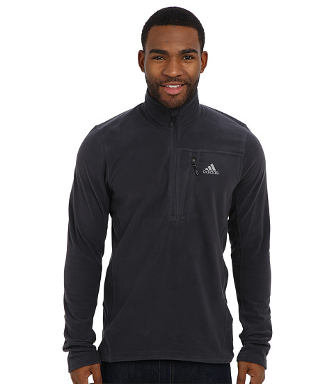 adidas Outdoor - Hiking Reachout Pull Over Fleece (Dark Shale) Men's Sweatshirt