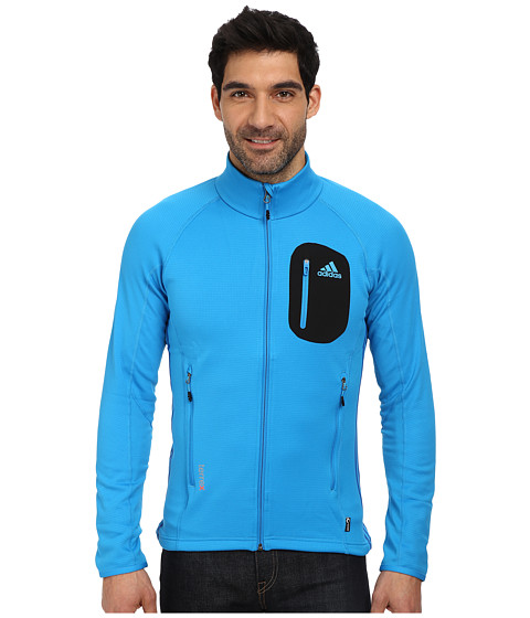 adidas Outdoor - Terrex Cocona Fleece Jacket (Solar Blue) Men