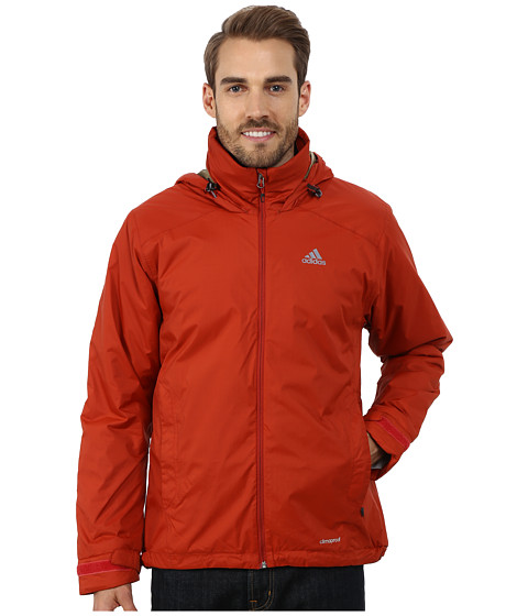 adidas Outdoor - Hiking Wandertag Insulated Jacket (Tribe Orange) Men's Coat