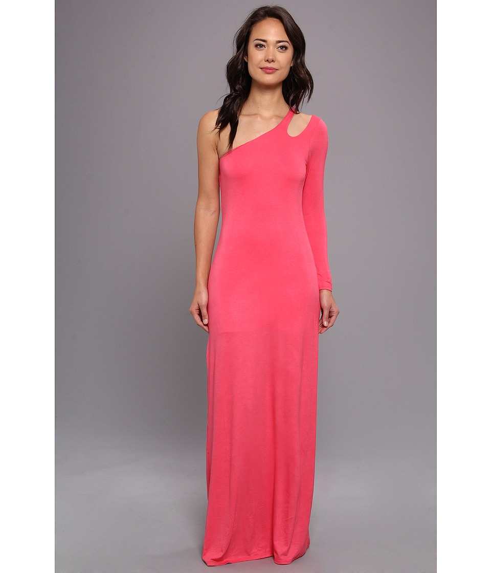 Gabriella Rocha - Alyssa One Shoulder Maxi (Coral) Women