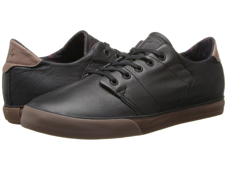 Globe - Los Angered Low (Black/Gum) Men's Skate Shoes