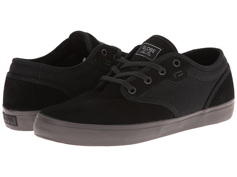 Globe - Motley (Black/Dark Gum) Men