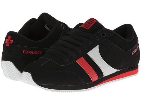 Globe – Pulse (Black/Grey/Red) Men's Skate Shoes