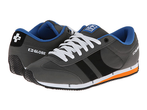Globe – Pulse Lite (Charcoal/Blue) Men's Skate Shoes