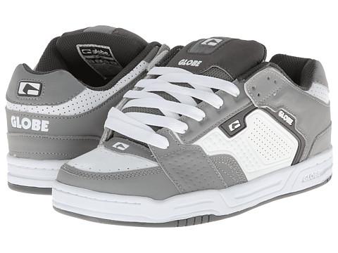 Globe – Scribe (Grey/White) Men's Skate Shoes