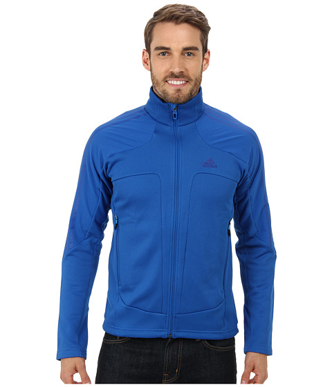 adidas Outdoor - Terrex Swift Fleece Jacket (Blue Beauty) Men's Jacket