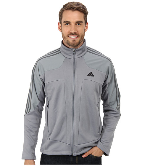 adidas Outdoor - Terrex Swift Fleece Jacket (Tech Grey) Men's Jacket