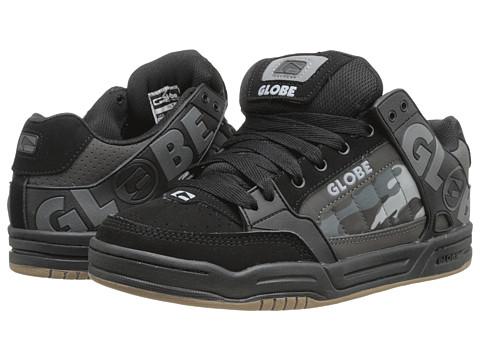 Globe – Tilt (Black/Camo TPR) Men's Skate Shoes