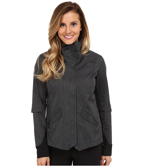 Brooks - PureProject Shelter Jacket (Black) Women's Coat