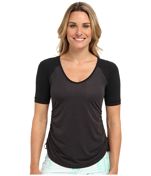 Brooks - PureProject S/S Top (Black/Black) Women's Short Sleeve Pullover