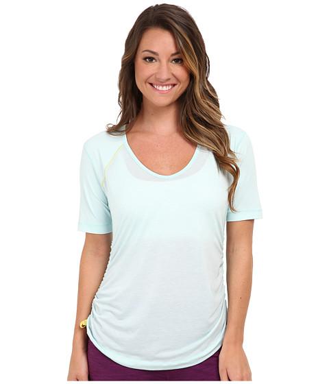 Brooks - PureProject S/S Top (Heather Breeze/Breeze) Women's Short Sleeve Pullover