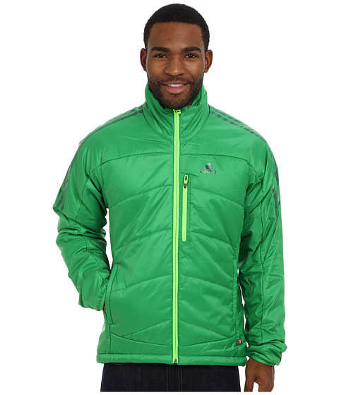 adidas Outdoor - Terrex Swift Primaloft Jacket (Real Green) Men's Coat