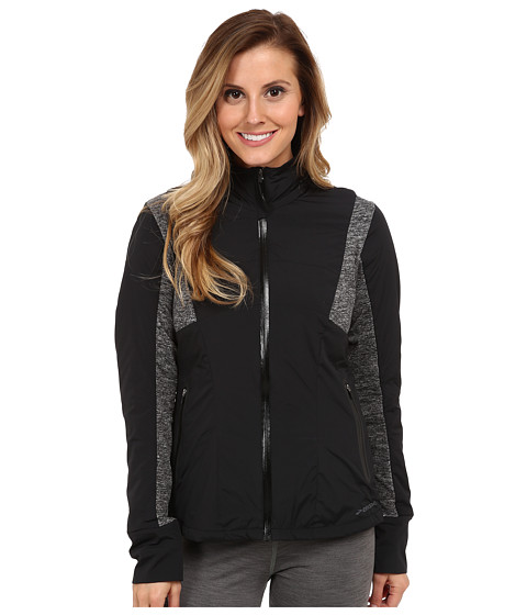 Brooks - Adapt Jacket (Black/Heather Black) Women's Coat